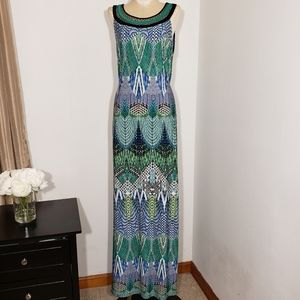 Sandra Darren maxi dress size 10